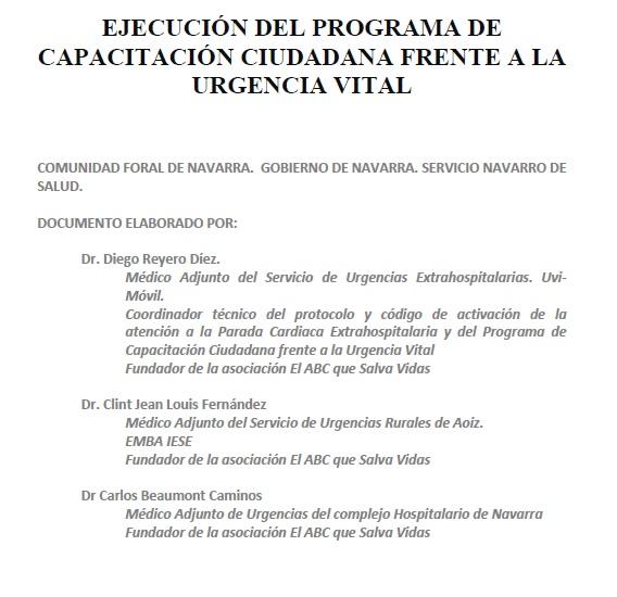 Ejecución Programa de Capacitación Ciudadana