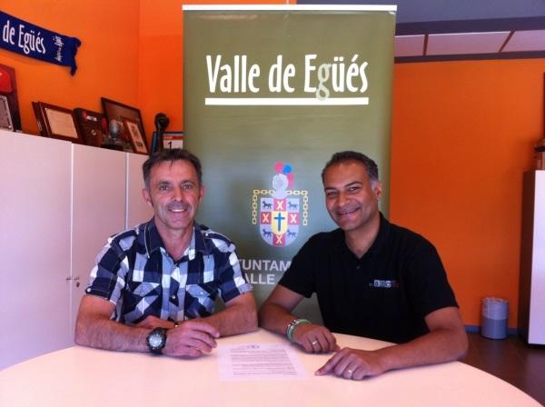 «El ABC Que Salva Vidas» y el Ayuntamiento del valle de Egües firman un convenio de colaboración